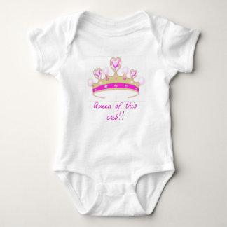Queen of this Crib Baby Bodysuit