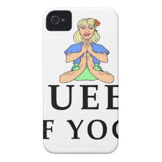 queen of yoga Case-Mate iPhone 4 cases