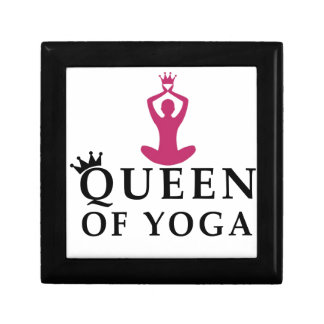 queen of yoga crown gift box