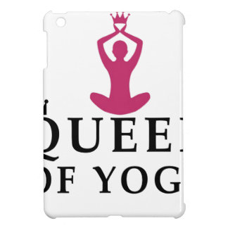 queen of yoga crown iPad mini cover