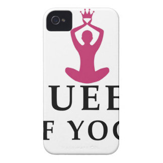 queen of yoga crown iPhone 4 Case-Mate case