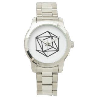 Queen (p) / Custom Oversized Silver Bracelet Watch