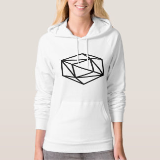 Queen (p) / Women's American Apparel Fleece Hoodie