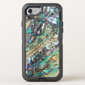 Queen paua shell OtterBox defender iPhone 8/7 case