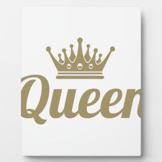 Queen Plaque