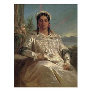 Queen Pomare IV  of Tahiti Postcard
