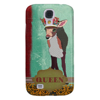 Queen Pretty Pink Fawn  Samsung Galaxy S4 Covers