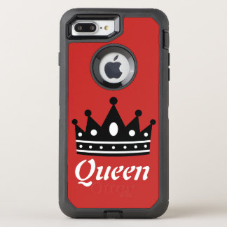 Queen Red & Black Otterbox Case