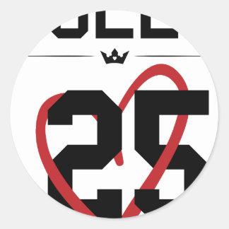 Queen Round Sticker