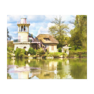 Queen's Hamlet, Versailles, France, Wrapped Canvas