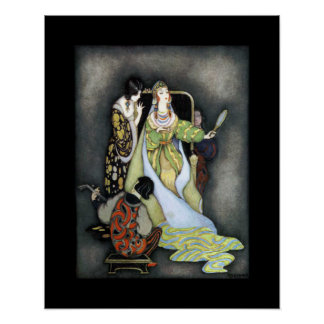 Queen (Snow White) ~ Fairy Tales ~ Bedtime Story ~ Poster