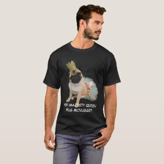 Queen Sprout The Pug Mcnugget T-Shirt