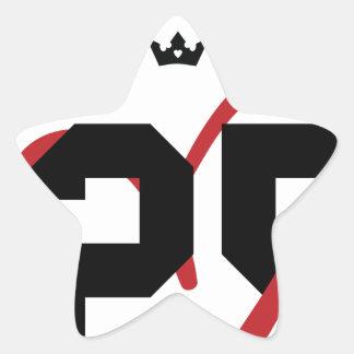 Queen Star Sticker