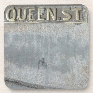 Queen Street...Get Your Royalty On! Coaster