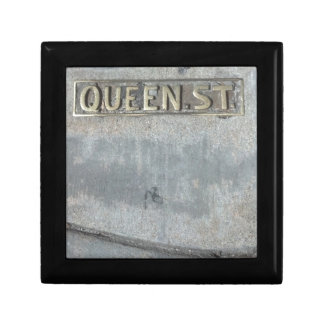 Queen Street...Get Your Royalty On! Small Square Gift Box