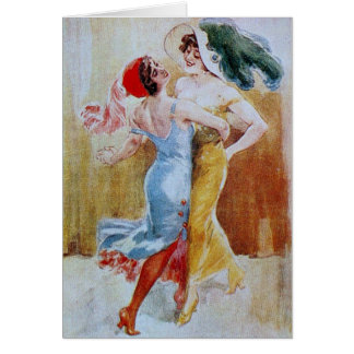 Queen Tango Greeting Card