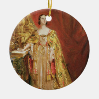 Queen Victoria (1819-1901) Taking the Coronation O Christmas Tree Ornaments