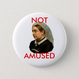 Queen Victoria 6 Cm Round Badge
