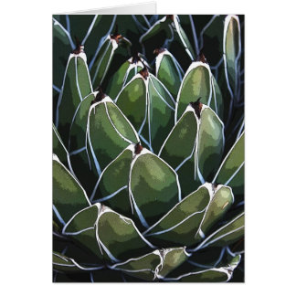 Queen Victoria agave notecard