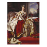 Queen Victoria at her Coronation Post Cards