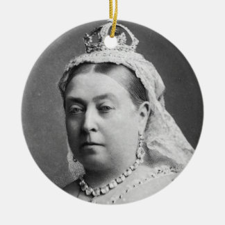 Queen Victoria by Alexander Bassano Ceramic Ornament