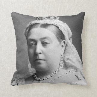 Queen Victoria by Alexander Bassano Cushion