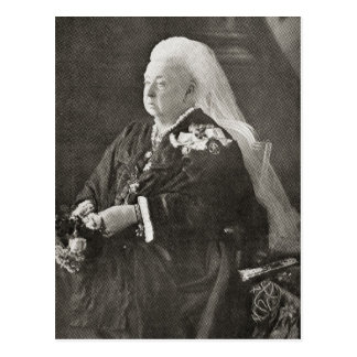 Queen Victoria  c.1899 Postcard