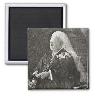Queen Victoria  c.1899 Square Magnet