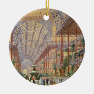 Queen Victoria Opening the 1862 Exhibition after C Ceramic Ornament