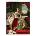 Queen Victoria Portrait Greeting Cards