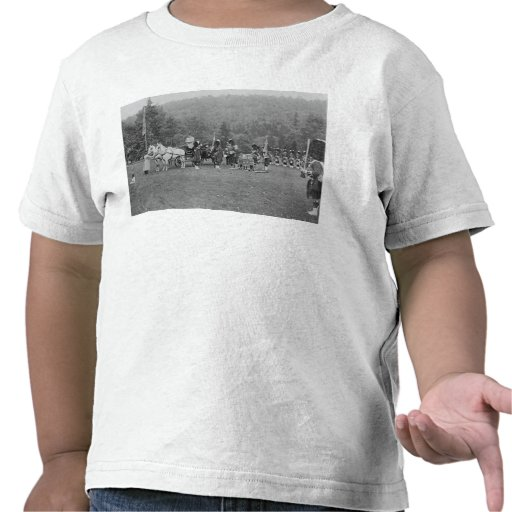 Queen Victoria presenting colours Tee Shirt