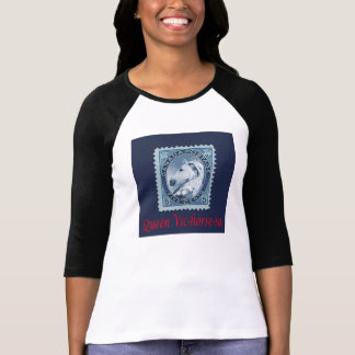 Queen Victoria Vic-horse-ia Postage Stamp Funny T Tee Shirt
