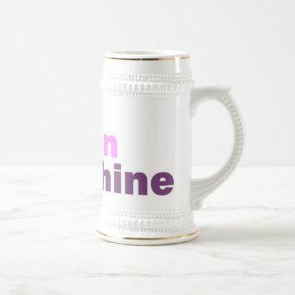 Queen Wahine Beer Mug