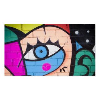 Queen West Graffiti / Street Art Pack Of Standard Business Cards