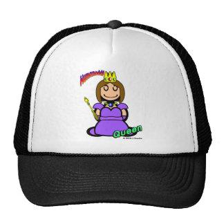 Queen (with logos) mesh hat