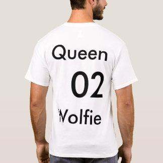 Queen wolfie mens T T-Shirt