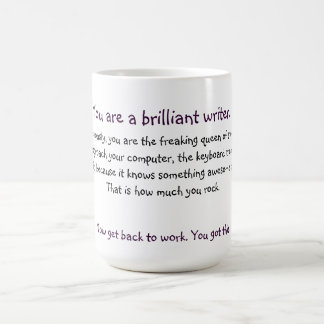 Queen Writer Mug