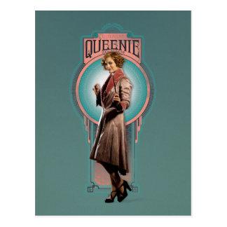 Queenie Goldstein Art Deco Panel Postcard