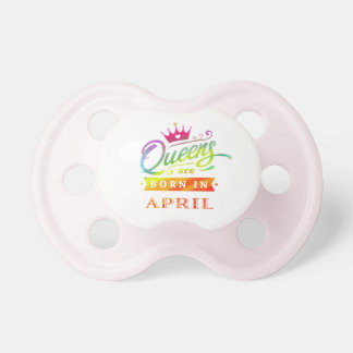 Queens are born in April Birthday Gift Dummy