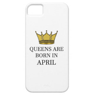 Queens Are Born In April iPhone 5 Case