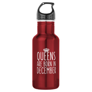 Queens are Born in December 532 Ml Water Bottle