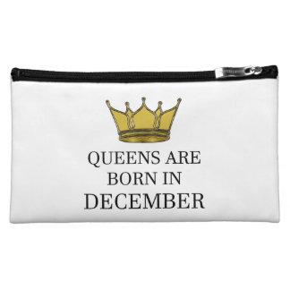 Queens Are Born In December Makeup Bag