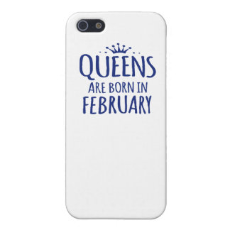 Queens Are Born In February case iPhone 5 Covers