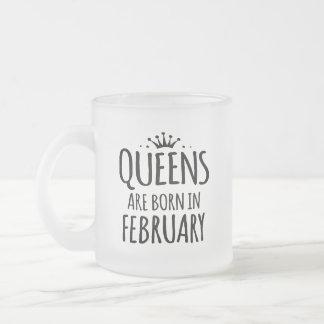 queens are born in february mug