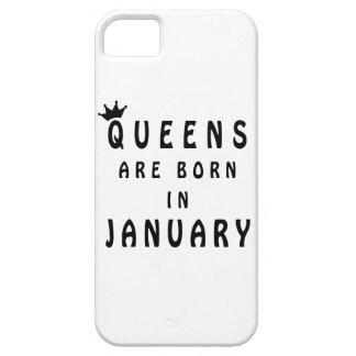 Queens Are Born In January iPhone 5 Case
