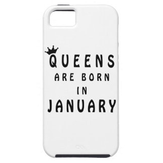 Queens Are Born In January iPhone 5 Cover