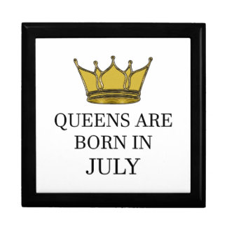 Queens Are Born In July Gift Box