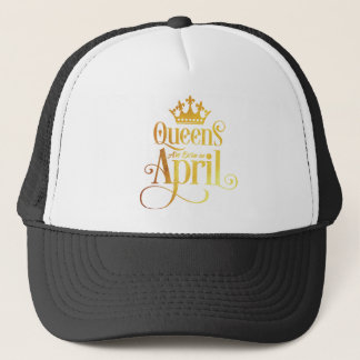 Queens are Born in March V01-04-b-05-04 Trucker Hat