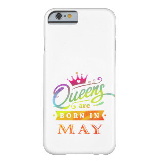 Queens are born in May Birthday Gift Barely There iPhone 6 Case