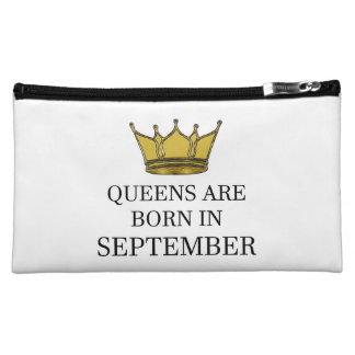 Queens Are Born In September Cosmetic Bag